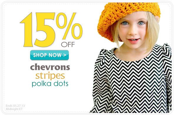 Stripes, Spots and Polka Dots Sale