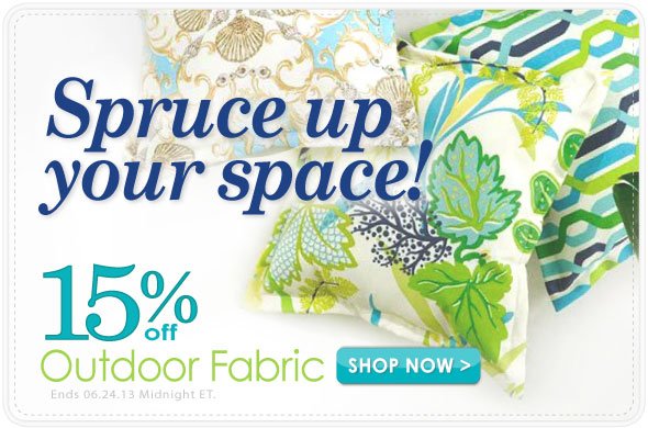Outdoor Home Decor Fabric Sale