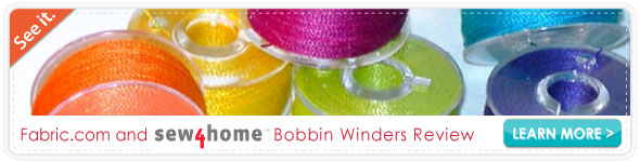 Sew4home Bobbin Winder Review