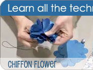 Making a Chiffon Flower