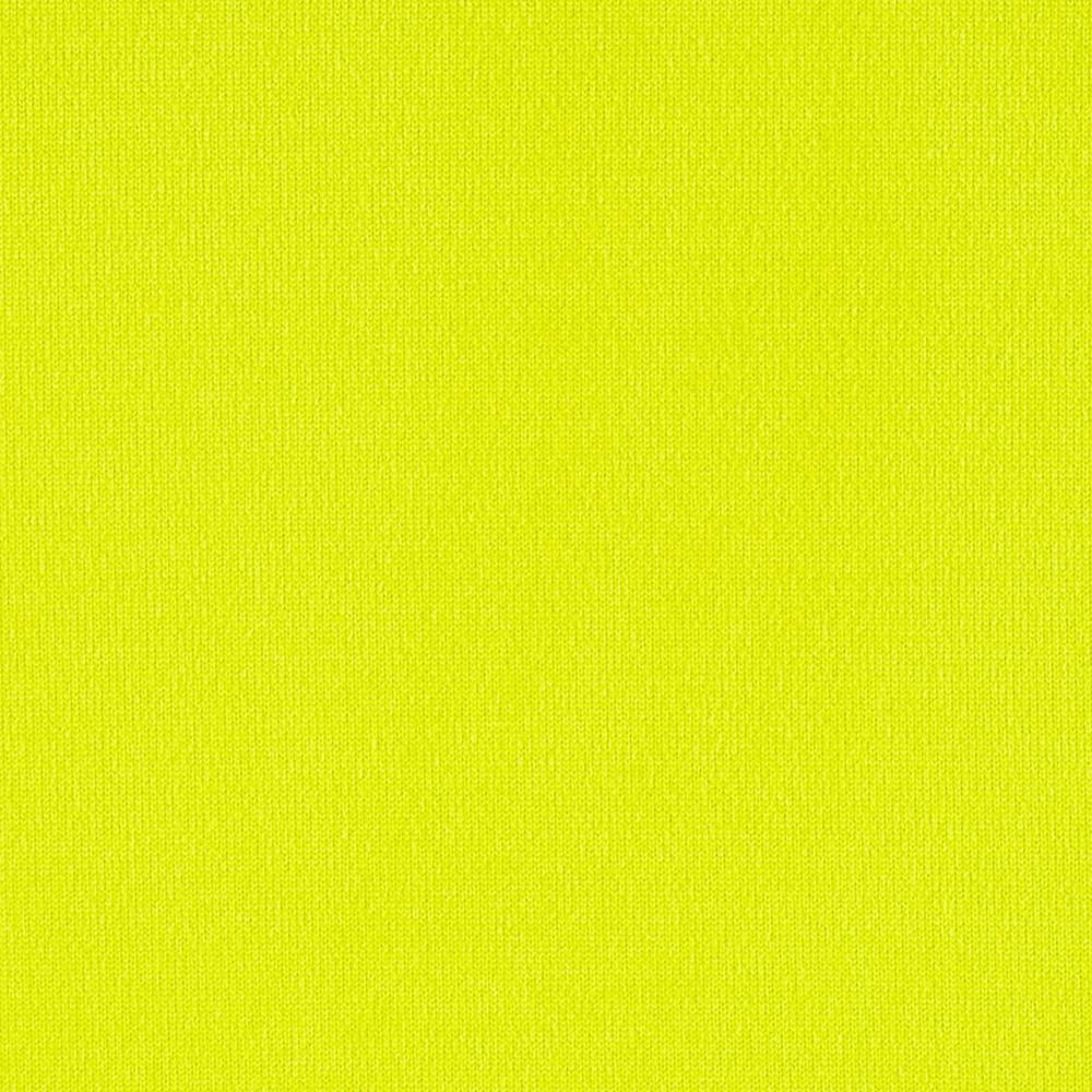 Brushed Poly Lycra Jersey Knit Solid Lime