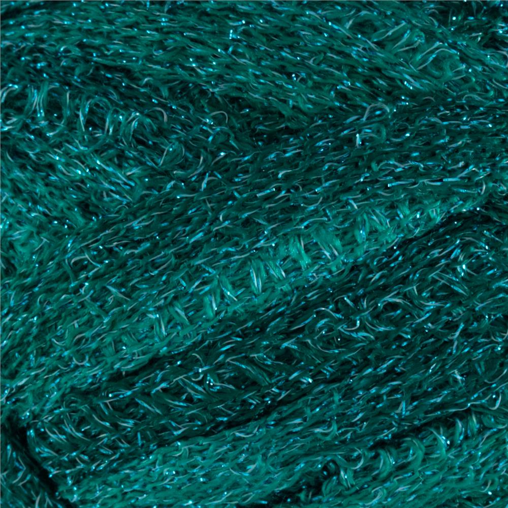 Red Heart Boutique Sashay Metallic Yarn Malachite