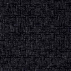 Waverly Upholstery Basketweave Charcoal