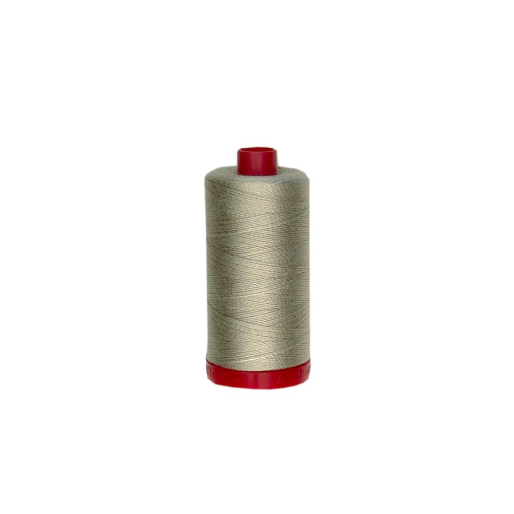 Aurifil 12wt Embellishment and Sashiko Dreams Thread Stone