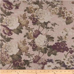 Jonquil Shirting Romantic Floral Mauve/Green
