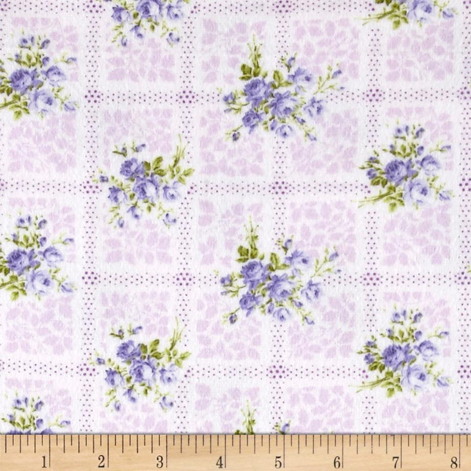 Afternoon In The Attic Flannel Memento Lavender