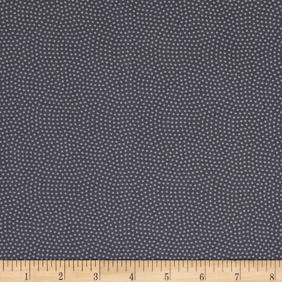 Image of Timeless Treasures Spin Dot Steel Fabric