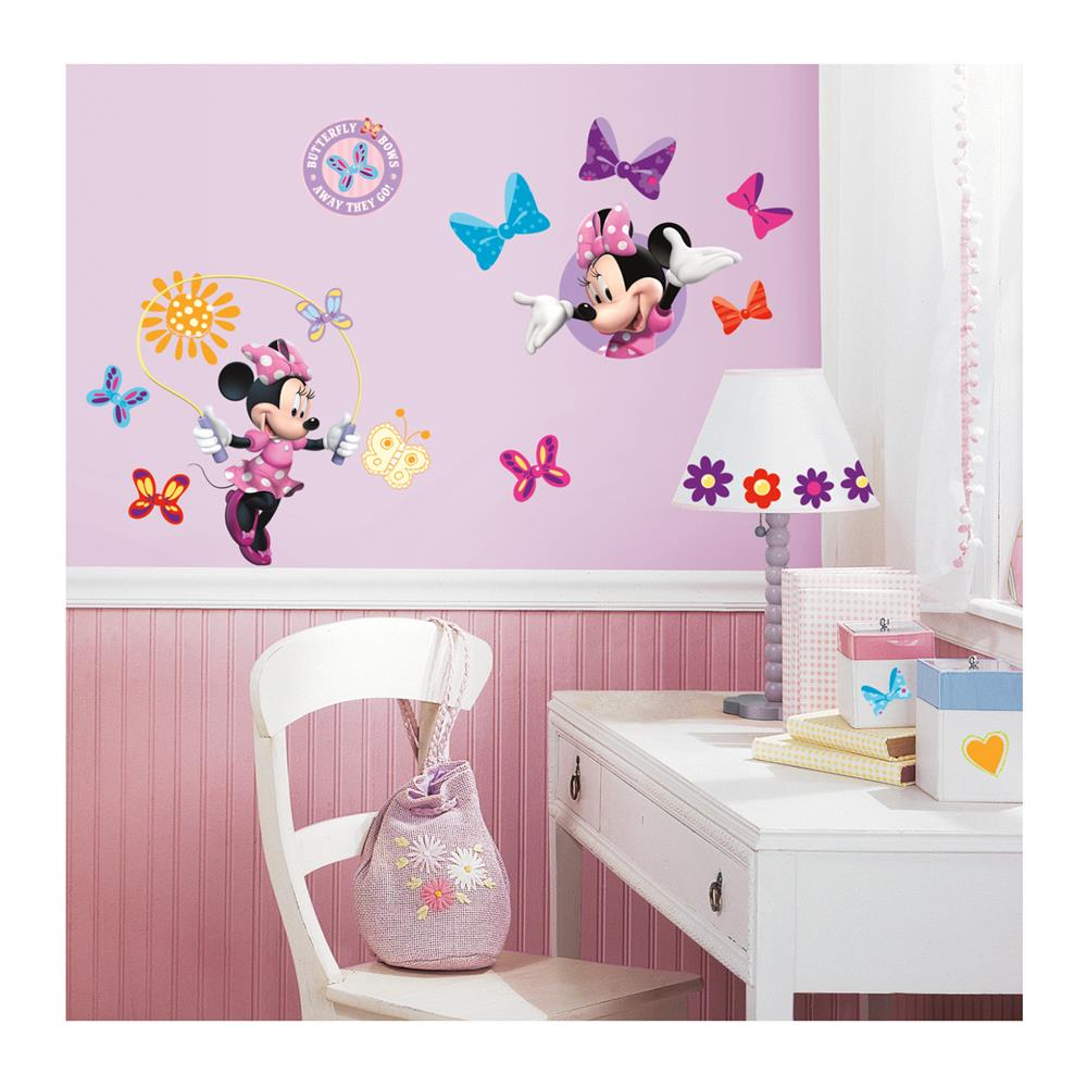 Minnie Bowtique Wall Decals