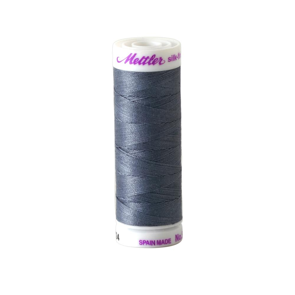 Mettler Cotton All Purpose Thread Smoke