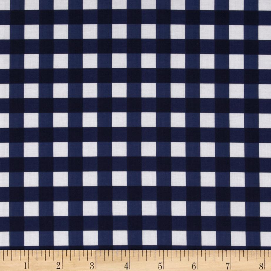 Riley Blake Basics Large Gingham Navy