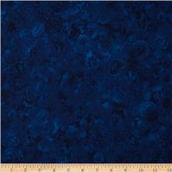 Fusions Bloom Petal Texture Navy
