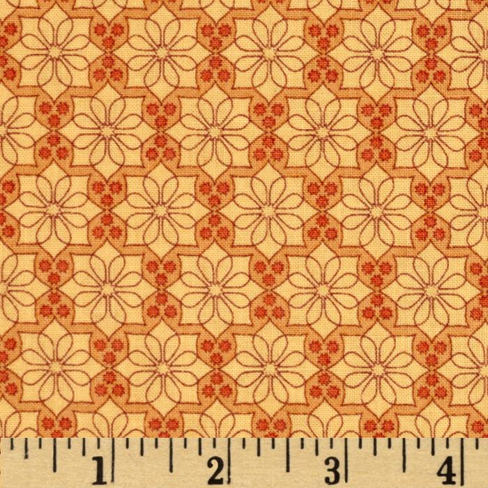 The Color Collection Daisy Plaid Orange