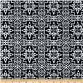 Urban Chic Geo Tribal Stretch ITY Knit Black/White