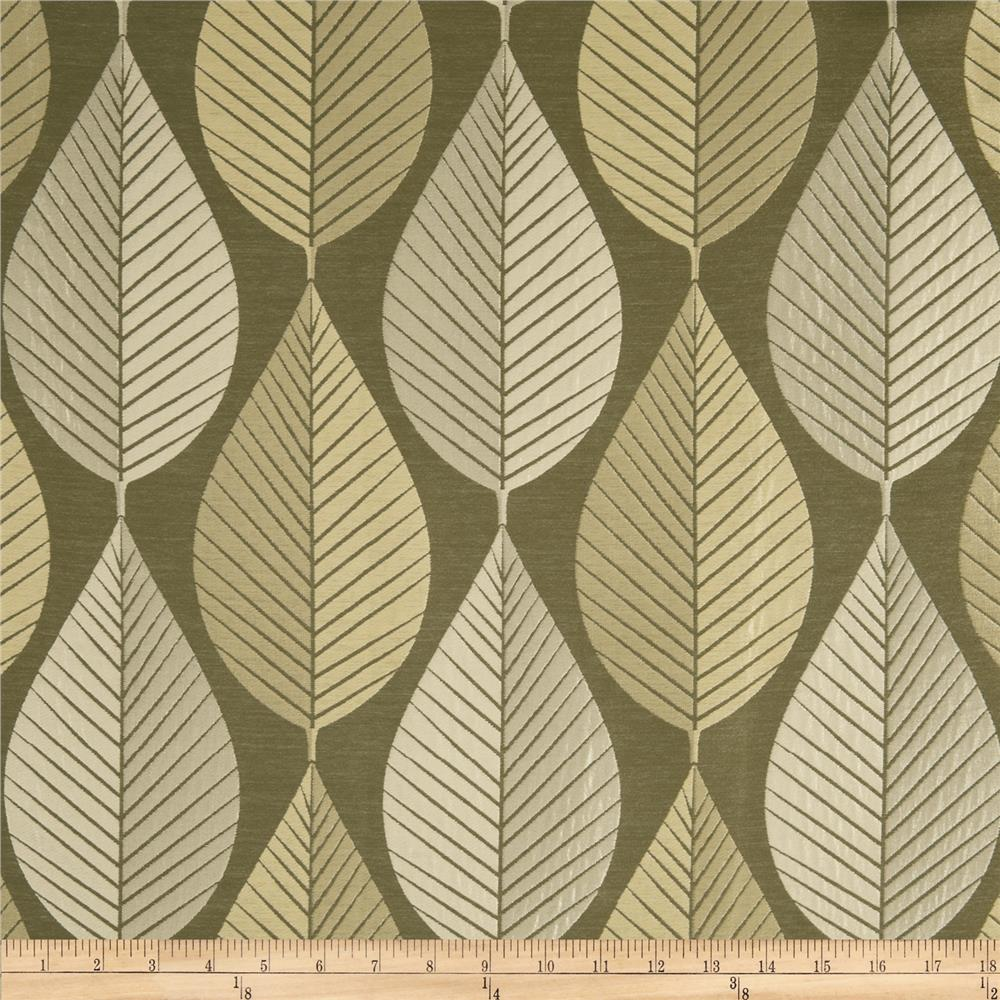 HGTV Home Loose Leaf Jacquard Quartz