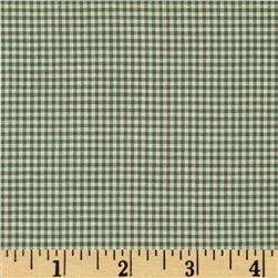 Gingham Cream/Green