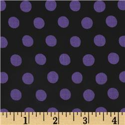 Kaffe Fassett Collective Spot Black Fabric