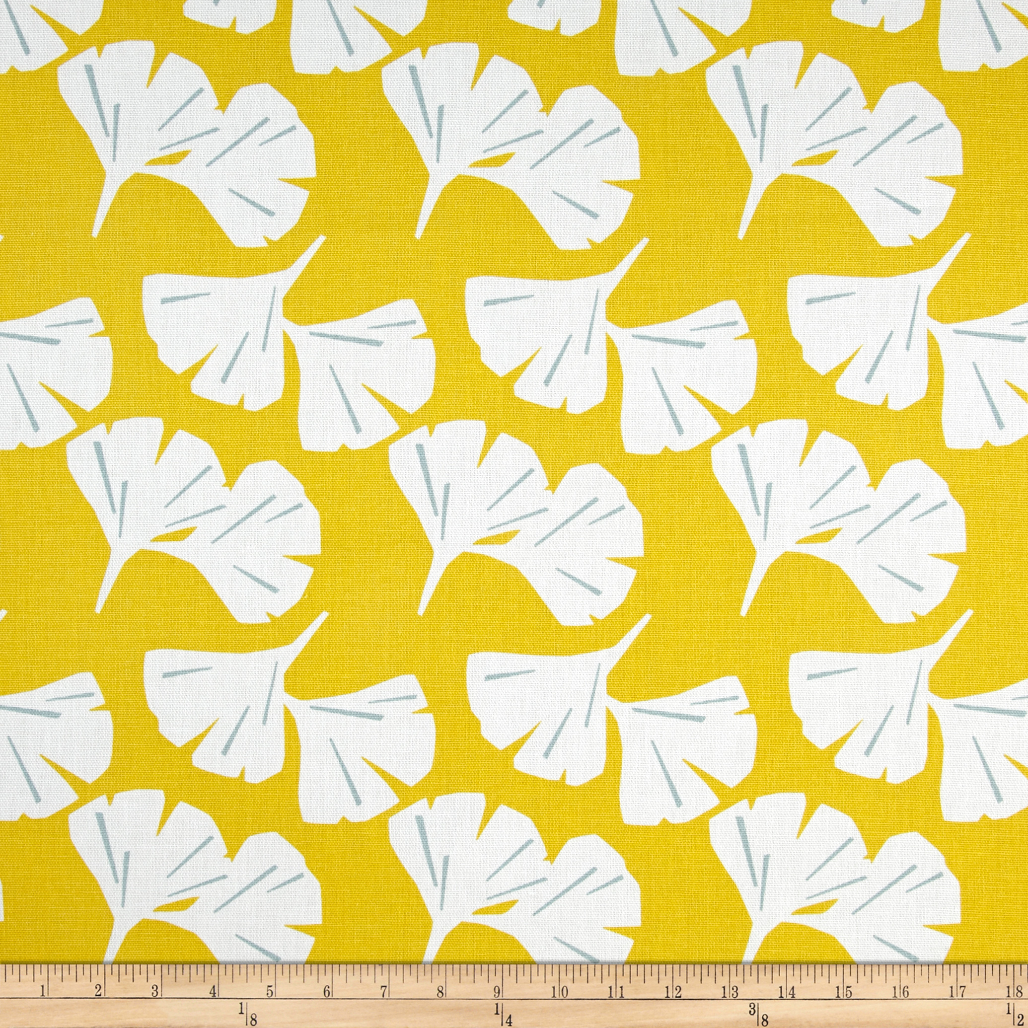 Premier Prints Ginko Mimosa Fabric by Premier in USA