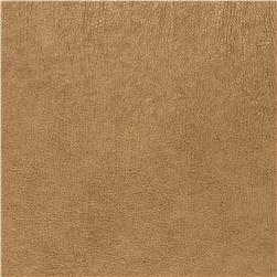Keller Cerro Metallic Faux Leather Gold Fabric
