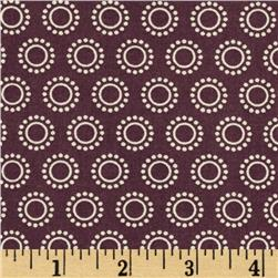 Calypso Dotted Circles Brown/Cream