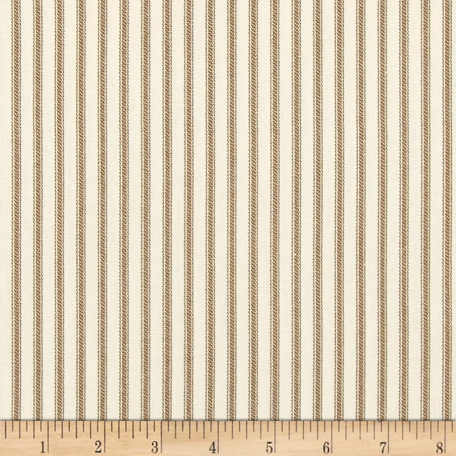 Magnolia Home Fashions Berlin Ticking Stripe Driftwood