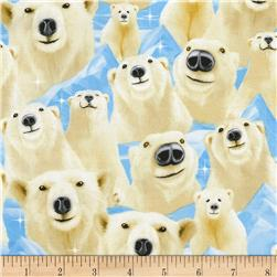 Timeless Treasures Selfie Polar Bear Arctic