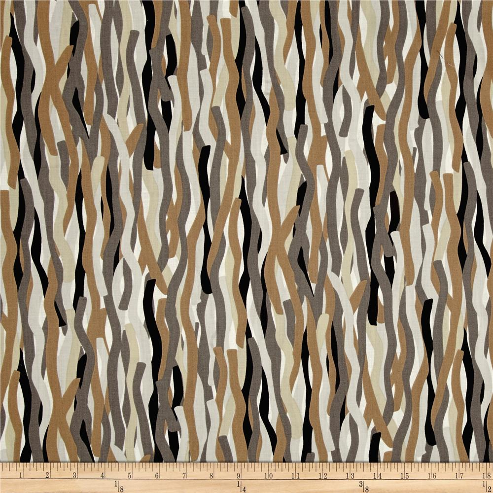 Mineral Forest Abstract Stripe Taupe Multi