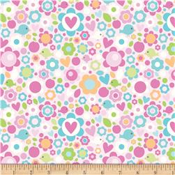 Riley Blake Sweet Home Floral Pink
