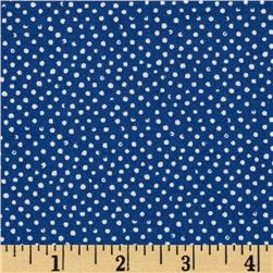 Mini Confetti Dot Navy