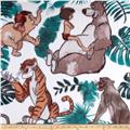 Disney Fleece Jungle Book White