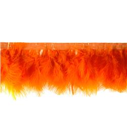 Feather Trim Orange