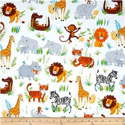 Kaufman Wild Adventure Animal Collage Wild