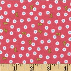 Riley Blake Summer Song 2 Flannel Petals Pink