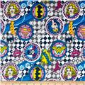 DC Comics Girl Power II Badges Flannel Grey
