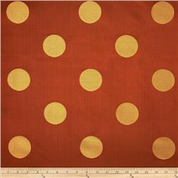 World Wide Aldo Large Dot Jacquard Paprika