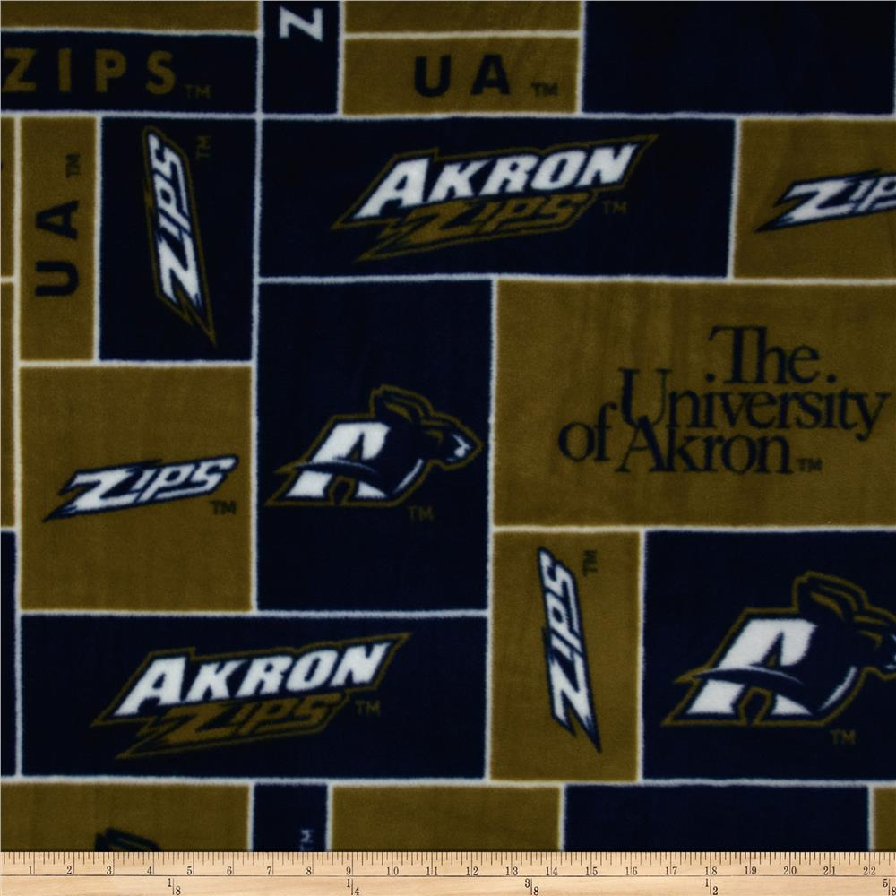 University of Akron Zips Fleece Navy