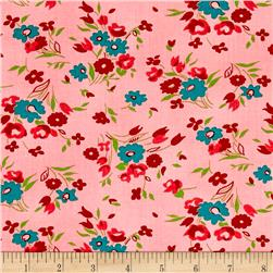 Dixie Small Floral Coral