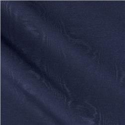 Waverly Williamsburg Palace Moire Navy