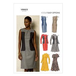 Vogue Misses'/Misses' Petite Dress Pattern V8923 Size A50