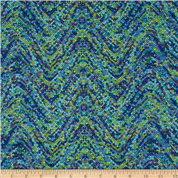 Palindromes Confetti Wave Blue/Green