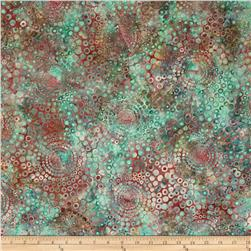 Bali Batiks Handpaints Circle Bursts Macaroon