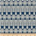 Penny Rose Forget Me Not Lace Navy