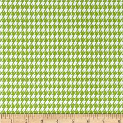 Premier Prints Houndstooth Chartreuse/White
