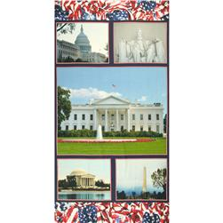 American Spirit Digital Print Welcome To Washington Multi