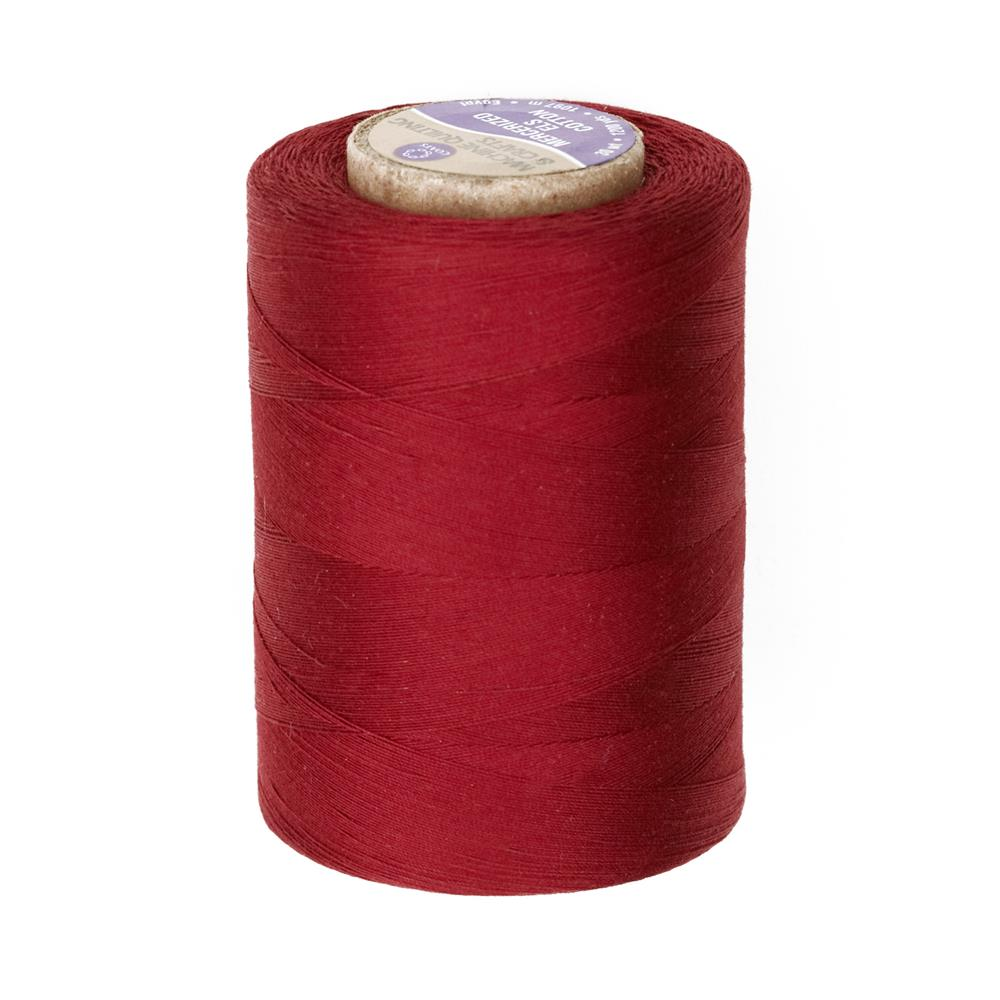 Cotton Machine Quilting Thread 1200 YD Barberry Red