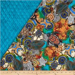 Sea Turtles Quilted Turtles Multi