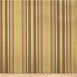 P Kaufmann Kent Stripe Jacquard Red Currant Fabric