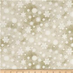 Winter's Friends Snowflake Beige