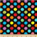 WinterFleece Medium Dot Black/Multi