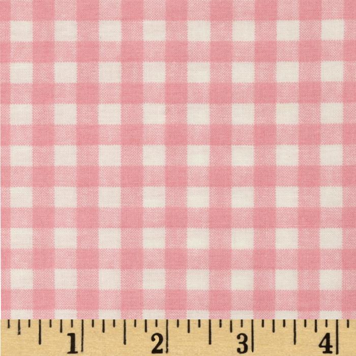 Basic Training Gingham Pink/White
