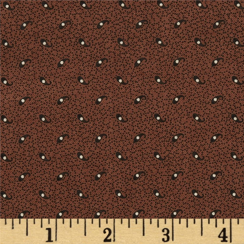 Edith Two Tone Texture Brown